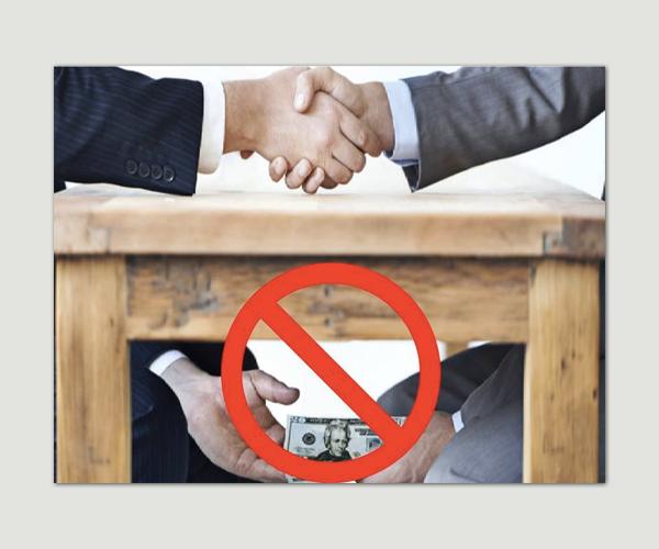 Rüşvet Ve Yolsuzlukla Mücadele Politikası