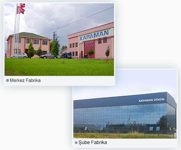 Fabrikalarımız